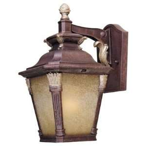 Hampton Bay Wall Mount Outdoor Augustain Bronze Lantern