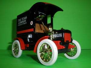 TEXACO 1905 FORD MODEL T DELIVERY CAR TRUCK #4 IN SERIES JOSEPH ERTL