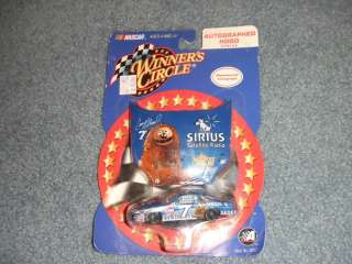 NASCAR WINNERS CIRCLE CAR CASEY ATWOOD #7 MUPPETS NEW