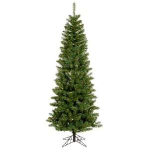 8.5 Pre Lit LED Salem Pine Pencil Artificial Christmas Tree