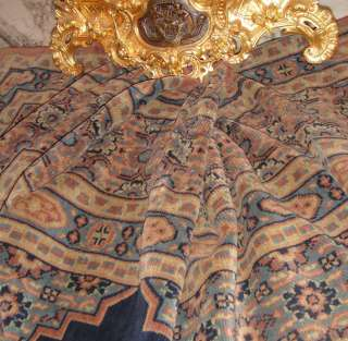 ANTIQUE FRENCH VELVET RUG   TABLE COVER   DRAPE PANEL